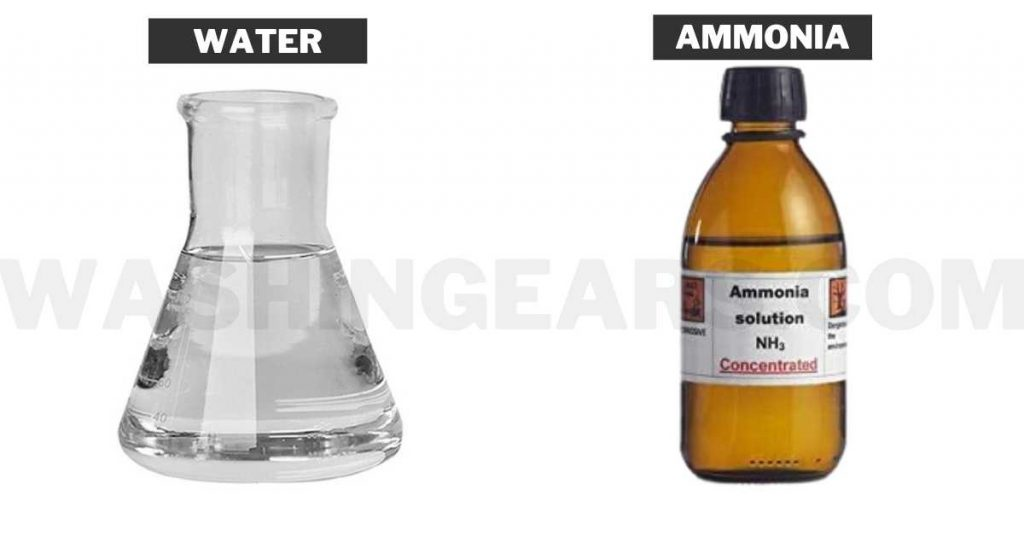 Ammonia Solution And Water