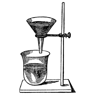 Gravity Filtration – Simple Filtration